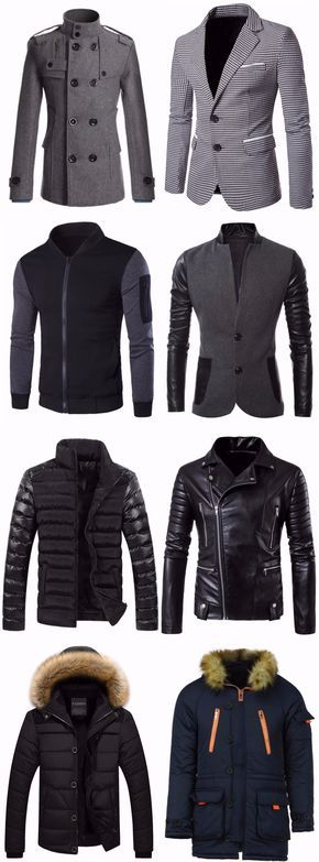 #Mens #Fashion Jackets & Coats | Up To 85% OFF | Start From $8.88 | Sammydress.com