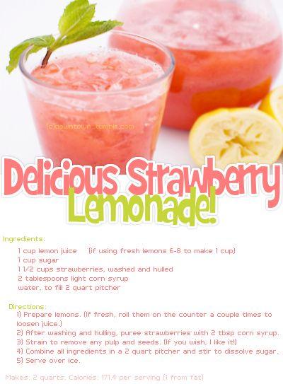 2 of my favorites, strawberries & lemons!