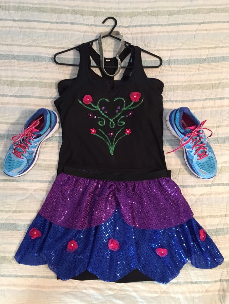 Disney Princess Running Costume - Anna Frozen