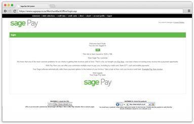 Login | Sage Pay  https://sagepay.co.za/login/#myanchor
