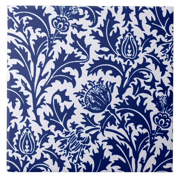 Portuguese Tiles Azulejos 55.1 X 35.4 BLUE Etsy in 2020