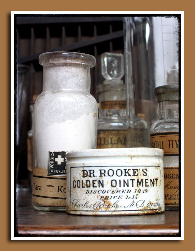 And when all else fails ... Dr. Rooke's Golden Ointment!