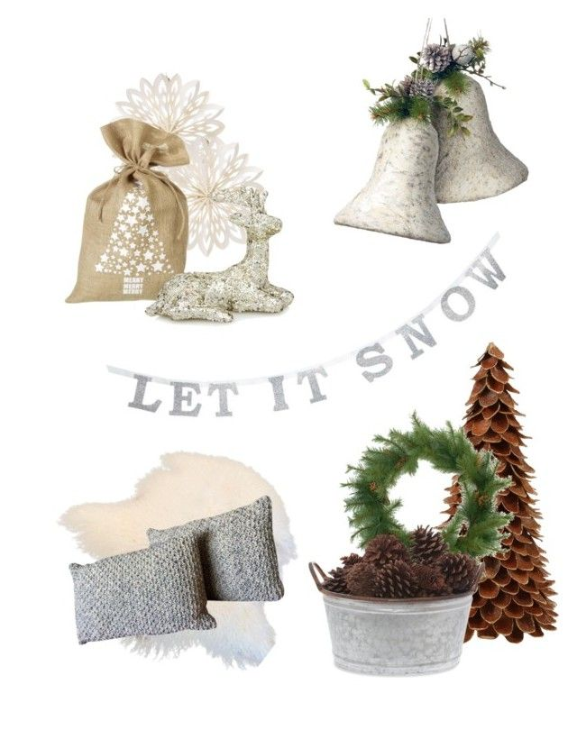Christmas inspiration by amandaahlm on Polyvore featuring polyvore, interior, interiors, interior design, home, home decor, interior decorating, National Tree Company, Cultural Intrigue and Parlane
