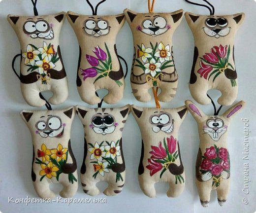 Моя новая коллекция Котиков и Мартовских Зайцев и пару Мишуток на 8 марта!! фото 1