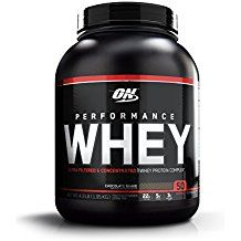 Gold Standard Whey Protein - Optimum Nutrition Performance Whey Protein Powder, Whey Protein Concentrate, Whey Protein Isolate, Hydrolyzed Whey Protein Isolate, Flavor: Chocolate Shake, 50 Servings