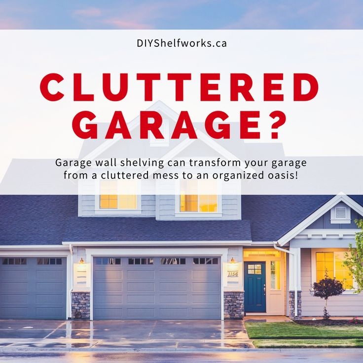 When properly organized, your garage can be the perfect storage solution for you and your family! Check out these quick tips and learn how garage wall shelving can totally transform your garage TODAY!