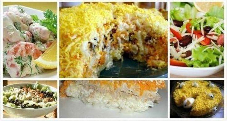 Салатики. Топ - 11. - Шедевры кулинарии - Google+