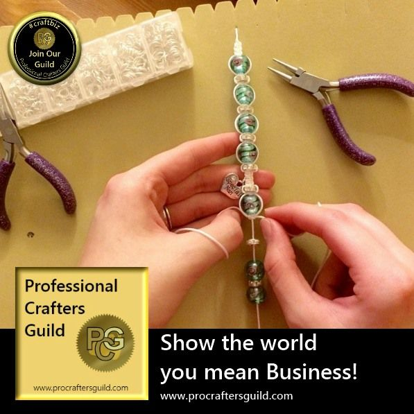 Crafters at work series. Showing K.D. Jewellery