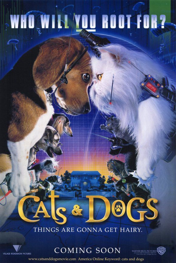 Pics Of Cats And Dogs Movie
