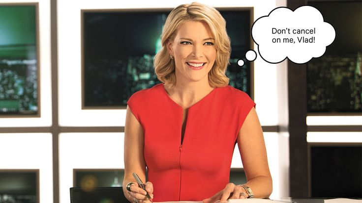 """Megyn Kelly on NBC Launch Putin Interview and 'Today' Rumors  The ex-Fox News star who's betting on a last-minute sit-down with the Russian president for the June 4 debut of her 'Sunday Night' demurs on plans for Trump: """"How many of those big egos can you fit into one show?""""  read more"""