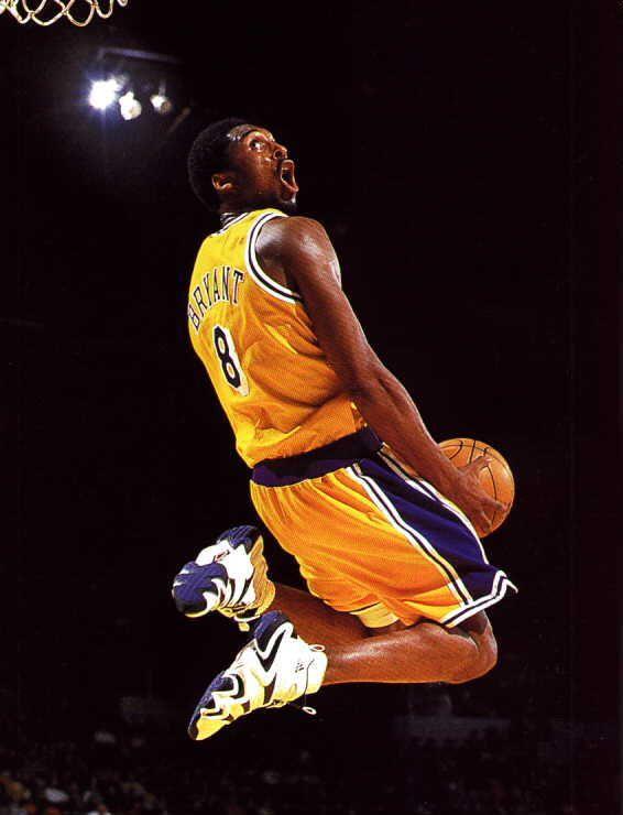 kobe bryant NBA slam dunk 1997