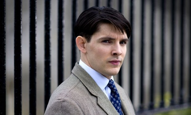 Merlin's Colin Morgan in Quirke - first look.  The NTA-winning star of the fantasy drama will appear alongside Gabriel Byrne, Nick Dunning and Michael Gambon in the upcoming period series from BBC1.