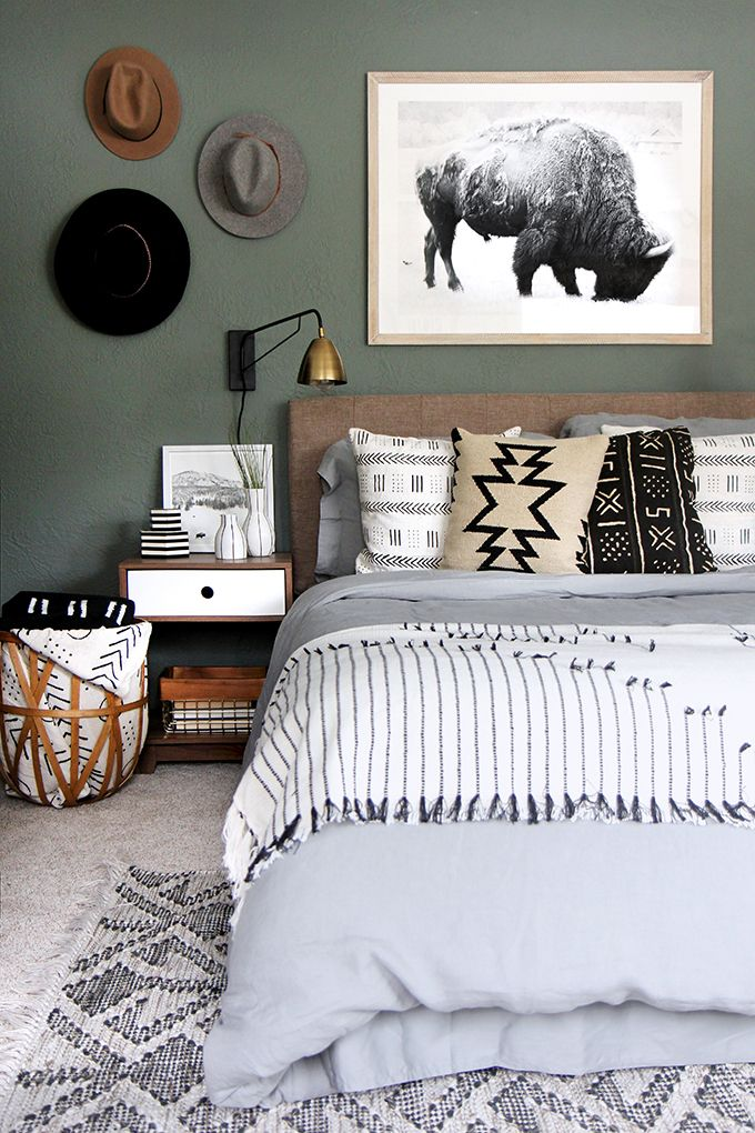 anatomy of a room: masculine vs. feminine styling