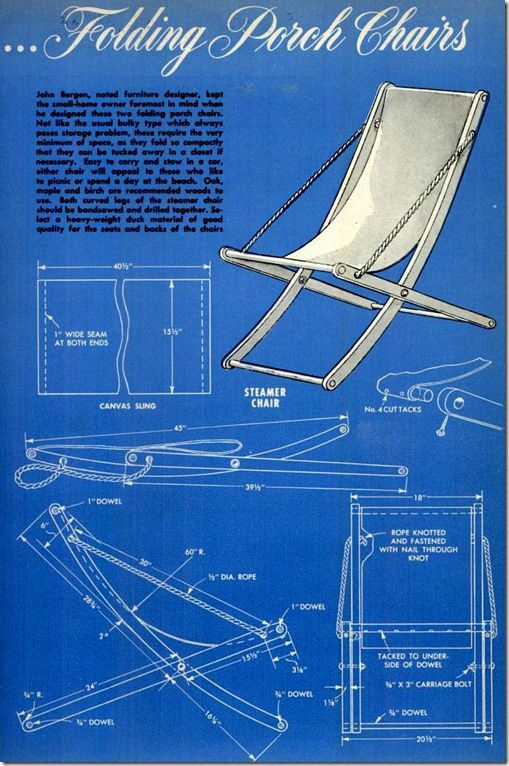 popular mechanics mai 52 06- folding porch chairs