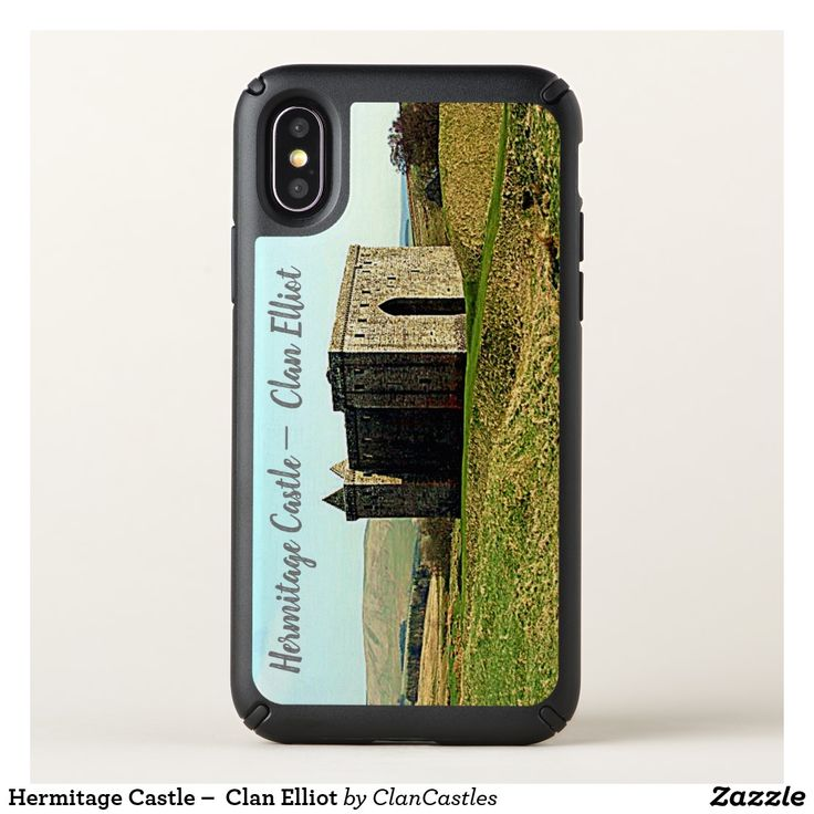 Hermitage Castle –  Clan Elliot Speck iPhone X Case
