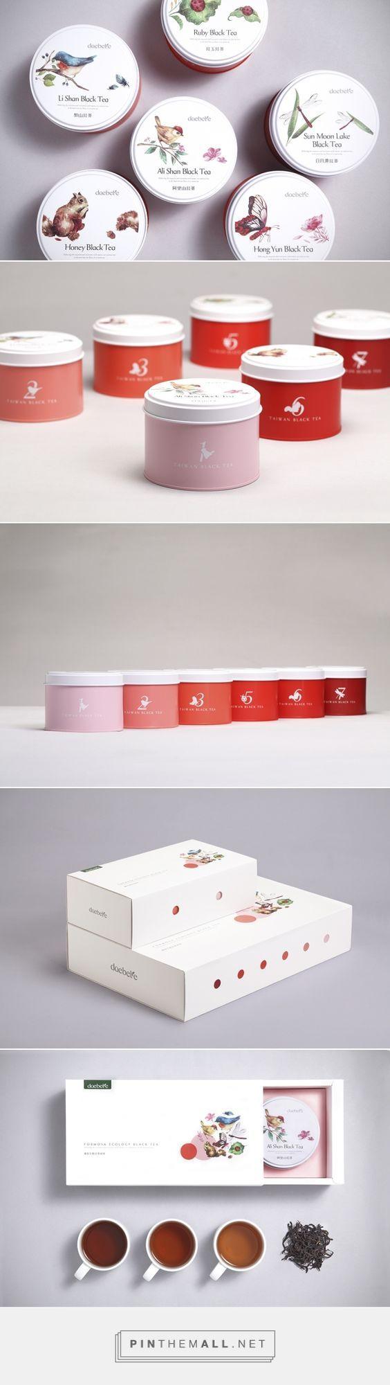 Daebete Tea Packaging by Victor Branding Design Corp.   Fivestar Branding – Design and Branding Agency & Inspiration Gallery