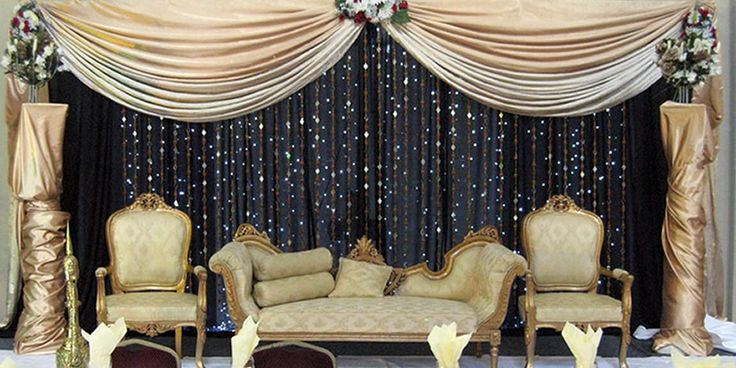 These Indoor Ceremony Backdrops Will Make You Pray For: Best 25+ Wedding Stage Backdrop Ideas On Pinterest