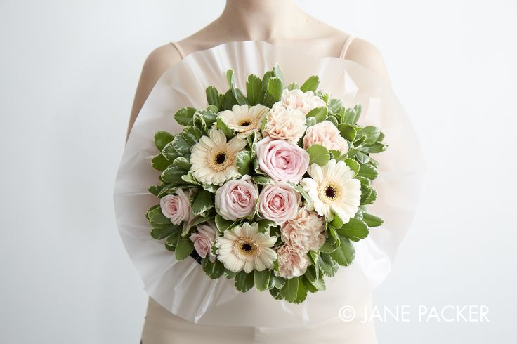"""Peach"" Bouquet from the Jane Packer Online collection - Summer Fruits 2016"