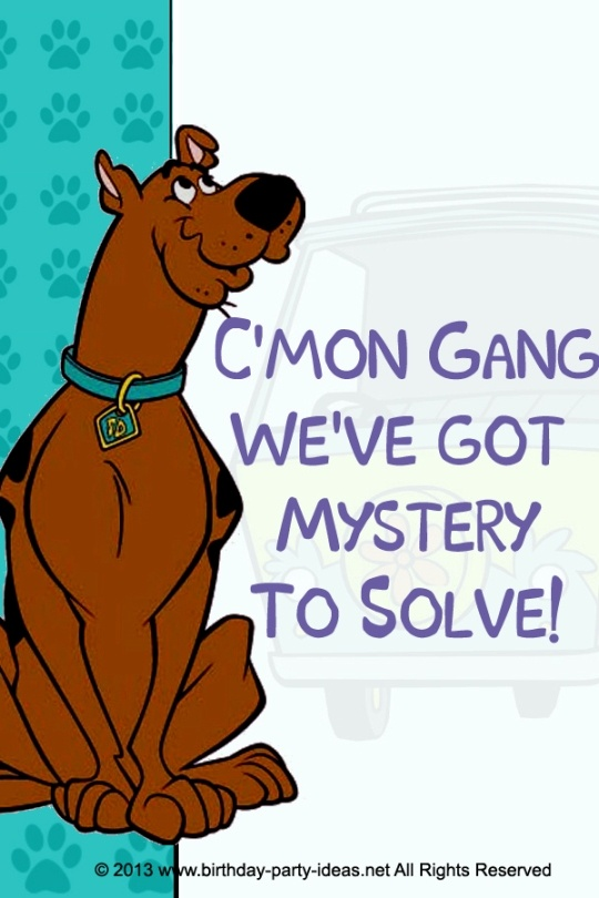 Mystery Incorporated Scooby Doo Birthday. I always have a hard time finding scooby doo stuff for my son.next year tho:)
