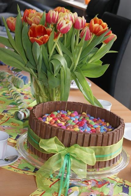 Smarties torte kuchen