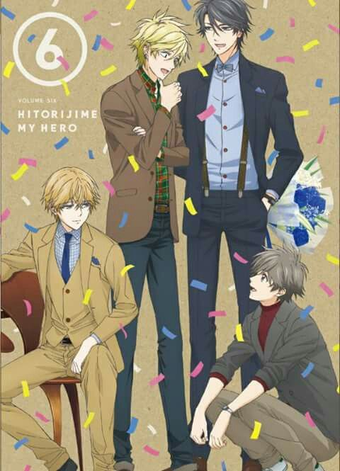 New image /// Hitorijime My hero