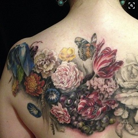 17 best images about ink on pinterest scrapbook kit for Chest mural tattoos