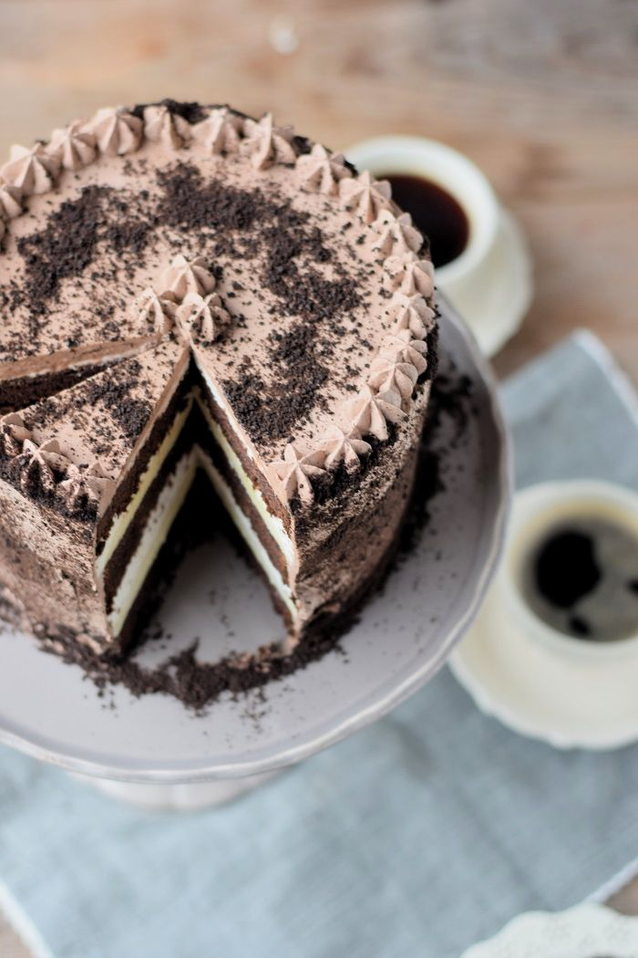 Chocolate Cake with Cheesecake Filling – Chocolate Birthday Cake with Cheesecake Filling #chocolate #chocolate   – Cheesecake & Käsekuchen