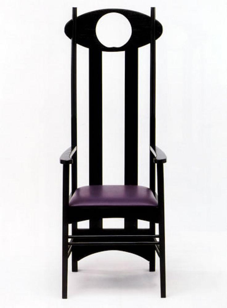 Silla Argyle 1897 Charles Rennie Mackintosh El Mueble