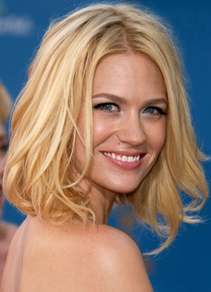 January Jones. Made it out of South Dakota, God bless her.
