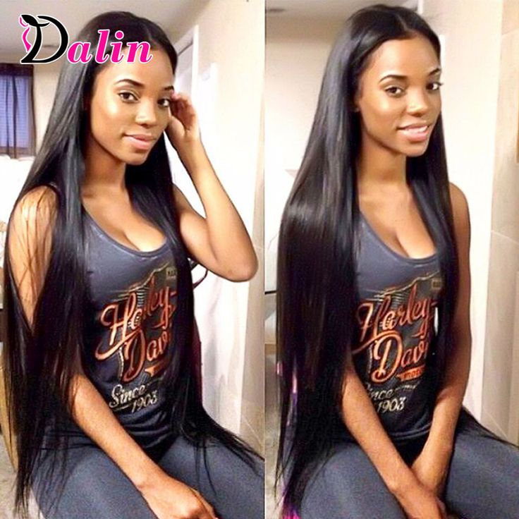 Malaysian Virgin Hair Straight 3 Bundles Human Hair Weave Grade 8A Unprocessed Virgin Hair Malaysian Straight Hair Extensions -- Find similar products by clicking the image