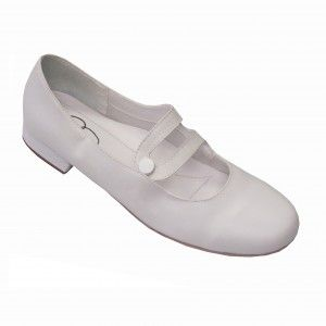1454 White  Sashay Comfort Slip-On Womens Square Dance Shoes (Narrow-Wide Widths & Sizes 5-12)