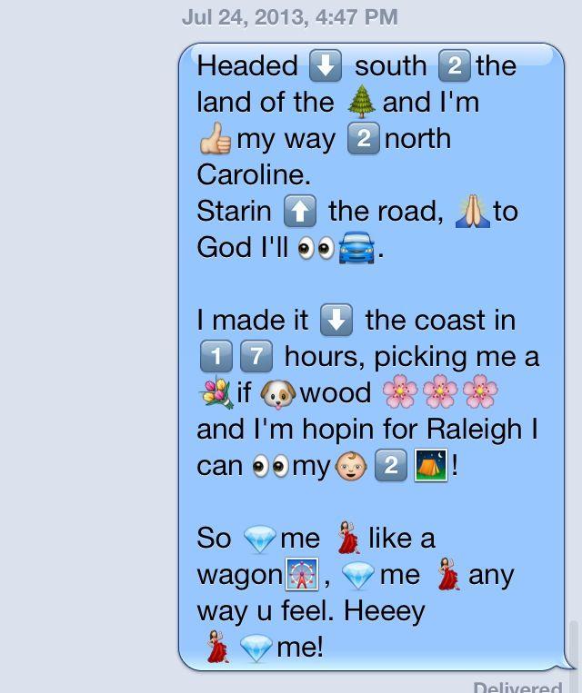 Love Making Song Lyrics Out Of Emojis