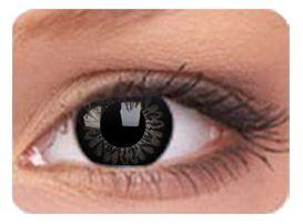 Lentille de couleur Big Eyes Dolly Black Correction -1.25