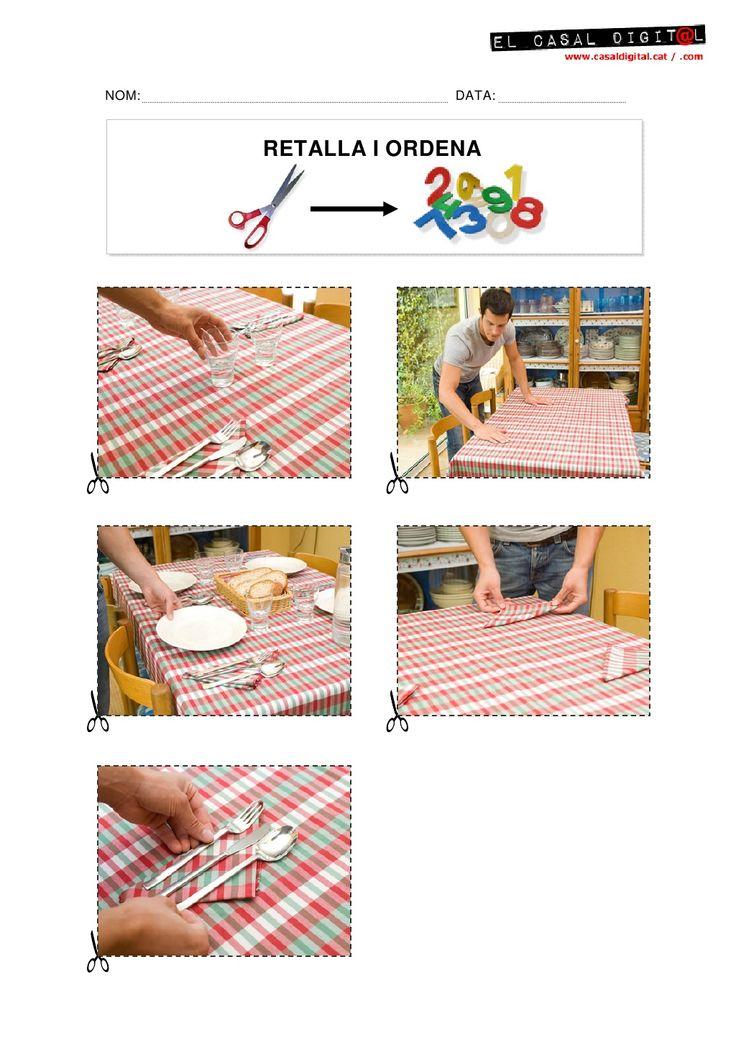 Seqüències per ordenar (Posar taula)