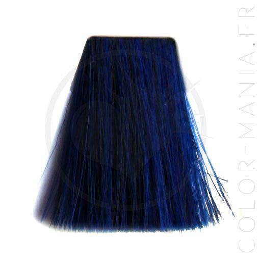 coloration cheveux bleu shocking blue manic panic color mani - Coloration Permanente Bleu