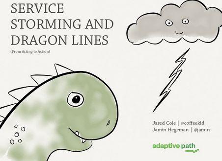 @Jamin Hegeman Hegeman and Jared Cole from Adaptive: Service storming and dragon lines