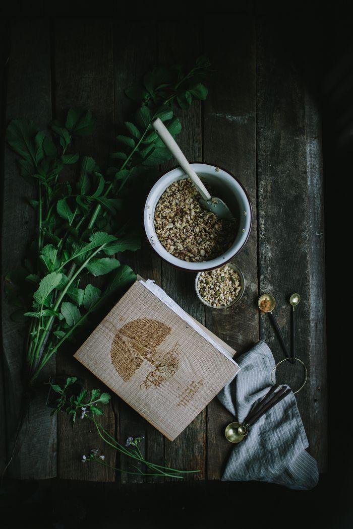 Homemade Vanilla Pepita Granola + A Plantable Book