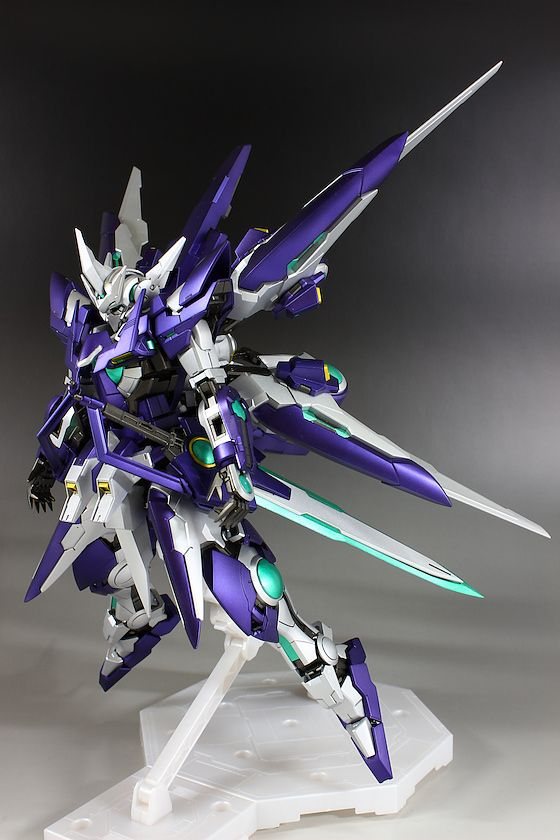hobbynotoriko's MG 1/100 Gundam Amazing Exia A.S.T CUSTOM: Photo Review, Info