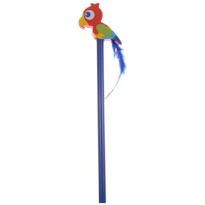 Tužka s gumou Papoušek #tužka #papírnictví #parrot #pencil #stationery