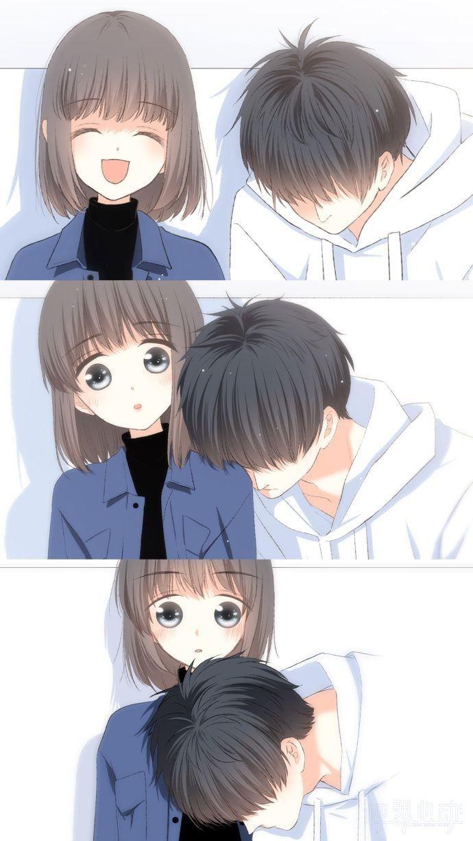 Pin oleh Reza di 怦然心动 Gambar manga, Komik romantis