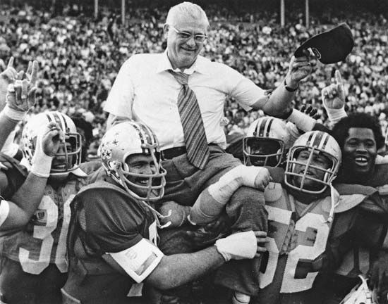 """Nothing that comes easy in this world is worth a damn."" -Woody Hayes"