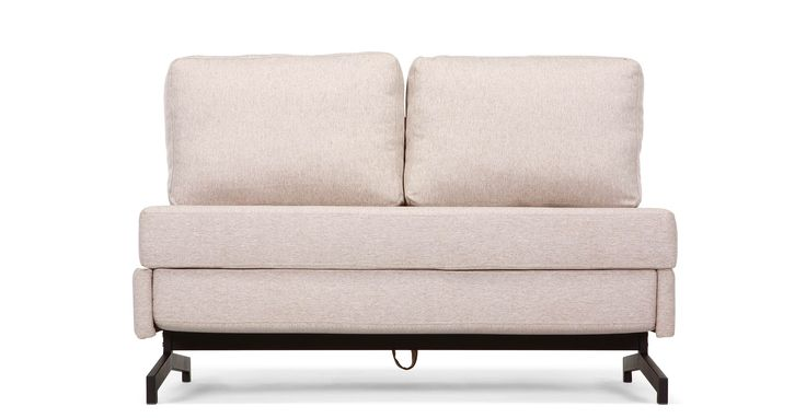 Motti Armless Sofa Bed, Pipit Beige £449
