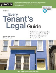 Every Tenant's Legal Guide. Ala apartment  lease laws
