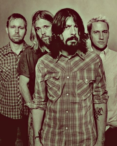 Foo Fighters - Banda Inglesa