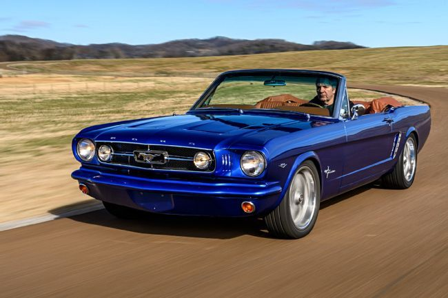 A 1965 Ford Mustang Convertible For A New Zealander S Father Back Home 1965 Mustang Convertible Mustang Convertible Ford Mustang Convertible