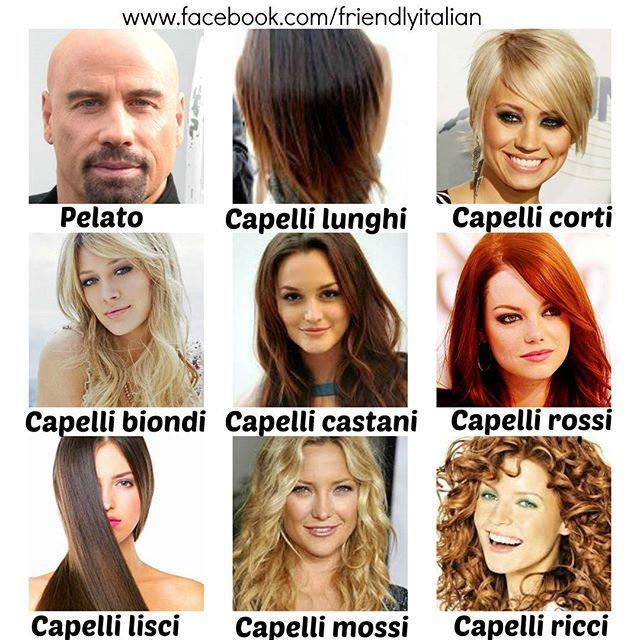 Come sono i vostri capelli? #vocabulary #italian #italianvocabulary #learn #language #languagelearning #friendlyitalian #teacher #italiano #daily #italianstyle #hair #haircut #style #happy #wednesday