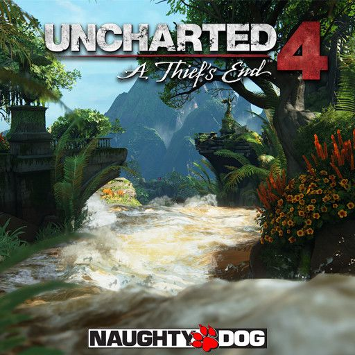 Uncharted 4: A Thief's End - River Rapids, Anthony Vaccaro on ArtStation at https://www.artstation.com/artwork/YR9A3