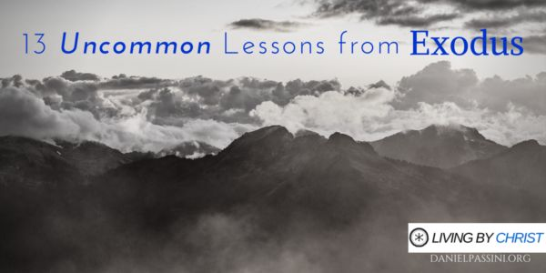 13 UNCOMMON LESSONS FROM EXODUS | The book of Exodus is one of those books that we learn about in Sunday school when we learn all about Moses, his time in the desert, leading the children of Israel out of captivity, and the parting of the Red Sea. This is many times the extent of our understanding of the book, but what if there was to the book than that? Many years ago I sat down to study Exodus in a way to find uncommon lessons.