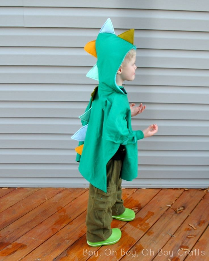DIY Dragon Dress-Up Poncho | AllFreeSewing.com