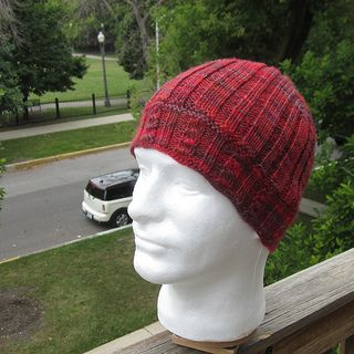 Cross Stitch Cable Beanie by Lauren Sanchez - free